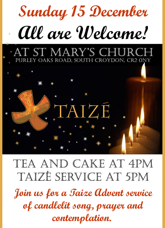 Advent Taize poster